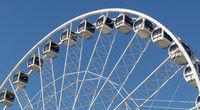 Riesenrad am Strand von Scheveningen