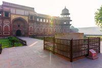 Agra Fort, Bathtub of Jahangir, Uttar Pradesh, India