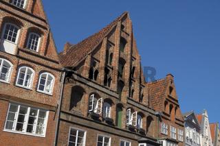Lüneburg - Altstadthäuser, Deutschland