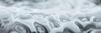 Abstract Swirly Background Panoramic White