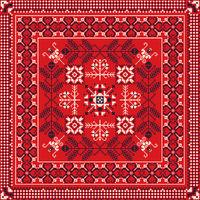 Romanian traditional pattern 215