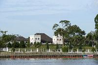 Astana Palast, offizielle Residence des Gouverneurs von Sarawak, Kuching, Sarawak, Borneo, Malaysia