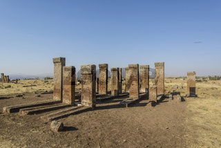 Tombstones of seljuks in Ahlat turkey