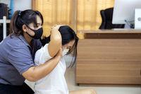 New noramal Massage at home while coronavirus COVID-19 Pandemic