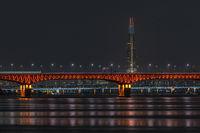 Seongsu bridge at night
