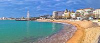 Saint Raphael beach and waterfront panoramic view