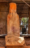 Ruins of the Grat Beal Gebri temple of Yeha, Ethiopia, Africa