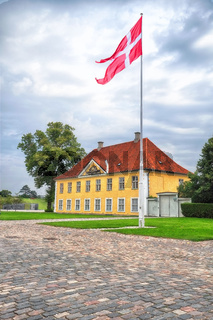 The Commander's House in Kastellet, Copenhagen.