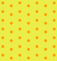 Orange dots on yellow background
