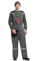 Man in workwear isolated view