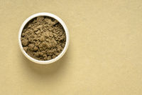 organic noni powder with copy space