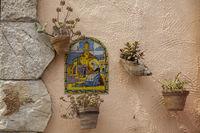 Typischer Kachelschmuck, Valldemossa, Mallorca