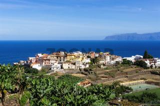 Agulo auf der Insel La Gomera