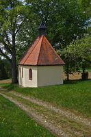 Kapelle am Kinzigtäler Jakobsweg bei Leinstetten im Glatttal, Schwarzwald