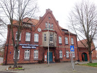 Altes Rathaus, als Schule erbaut, nun in Privatbesitz