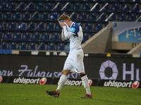 deutscher Fußballer Dominik Ernst 1.FC Magdeburg DFB 3.Liga Saison 2020-21