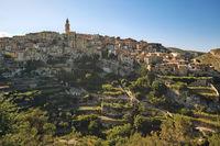 Picturesque Bocairent village, Spain