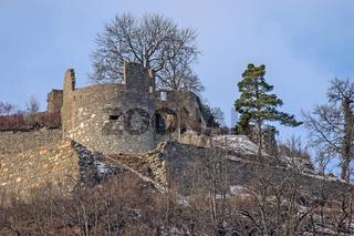 Festungungsruine Hohentwiel, bei Singen