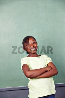 Lächelndes afrikanisches Kind