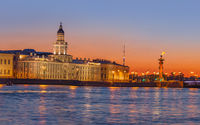 Neva river panorama - Saint-Petersburg Russia