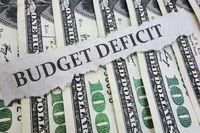 Budget Deficit news headline on money