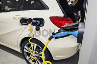 Elektroauto an der Ladestation