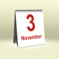 November 3rd | 3. November