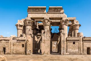 The Graeco Roman Temple at Kom Ombo