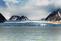 Monacobreen, Spitzbergen, Norwegen