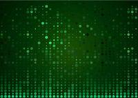 Grüner abstrakter Halbton Hintergrund