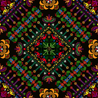 Hungarian embroidery pattern 39