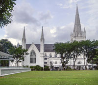 St Andrews Cathedral in Singapore