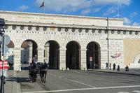 Historisches Tor zum Heldenplatz, Wien, Oesterreich