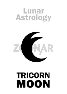 Astrology: Three-horned MOON