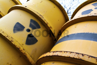 Radioactive nuclear waste