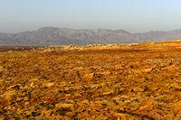 Rotbraune Vulkanerde, Geothermalgebiet Dallol, Danakilsenke, Afar Dreieck, Äthiopien