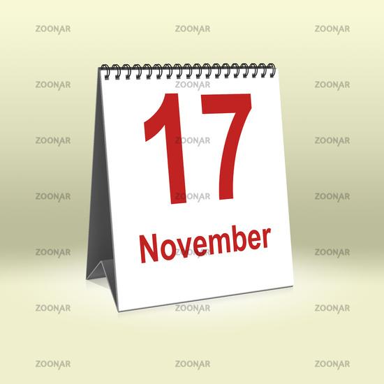November 17th | 17.November