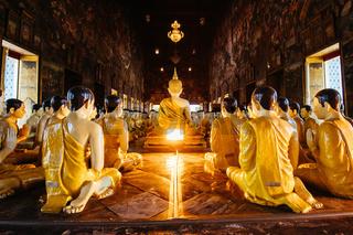 Ubosat of Wat Suthat in Bangkok Thailand