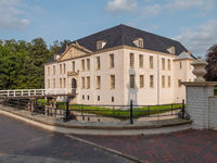 das Schloß von Dornum in Ostfriesland
