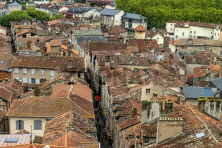 Mediveval Village in France, Villefranch de Rouergue,