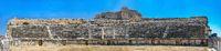 The interior of the Miletus Ancient Theatre in Turkey