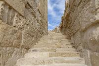 Kourion-Aufgang Amphitheater, Zypern
