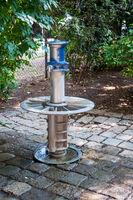 Water column in park