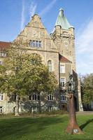 Rathaus der Stadt Hattingen, NRW, Deutschland