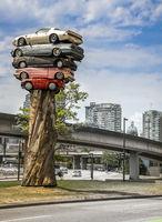 Scrap cars in Vancouver Canada