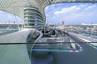 Abu Dhabi. United Arab Emirates. Yas Marina F1 Circuit