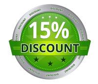 15 percent Discount