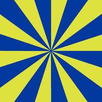 Rays blue and yellow