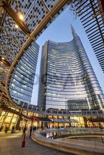Milan Italy, Porta Nuova District