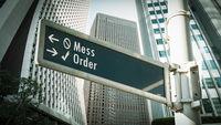 Street Sign Order versus Mess